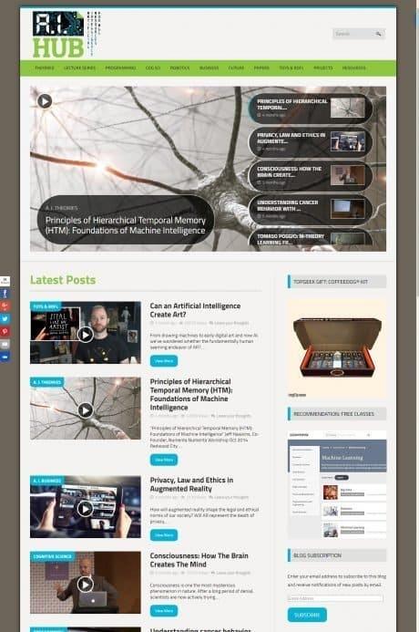 AI-Hub website (Y-Unit.com)